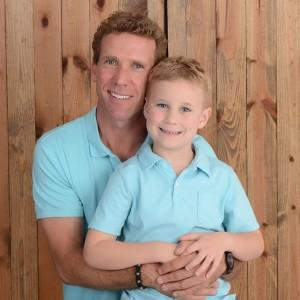Owner Matt Neufeld with Son, Logan.