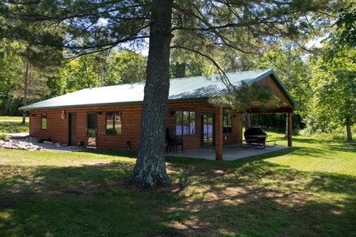 Best fishing cabins at wildewood lake savant ontario canada for Fish lake cabins