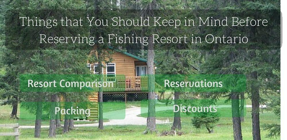 Reserving Fishing Resort