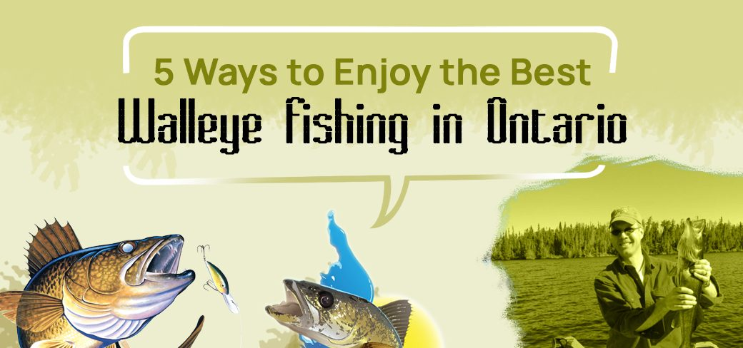 5 Ways to Enjoy the Best Walleye Fishing in Ontario